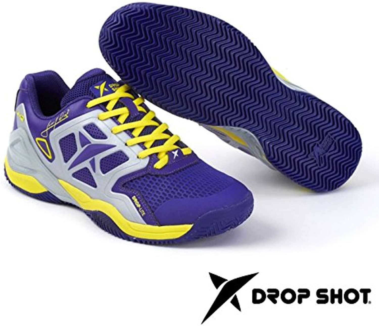 DROP SHOT - Conqueror Tech 4.0, Color Morado, Talla EU 45  -