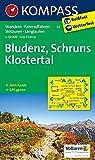 Bludenz - Schruns - Klostertal: Wanderkarte mit Aktiv Guide, Radwegen, alpinen Skirouten und Loipen. GPS-genau. 1:50000: Wandelkaart 1:50 000 (KOMPASS-Wanderkarten, Band 32)