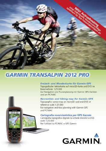 Garmin 010-11404-01 Topographie GPS Transalpes 2012 Pro