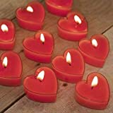 Best Scented Candles - Lighthaus Candles Rose Aroma Scented Heart Tealight Candles Review