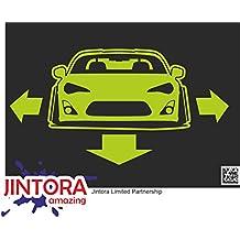 JINTORA etiqueta para el coche/etiqueta engomada - profond, large gt 86 Coche asiático