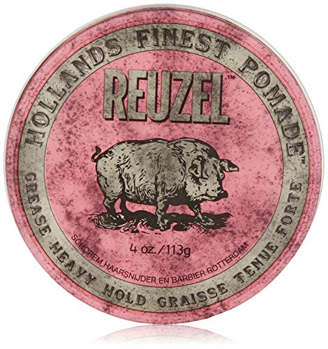 REUZEL Pink Grease Heavy Hold Pomade, 1er Pack
