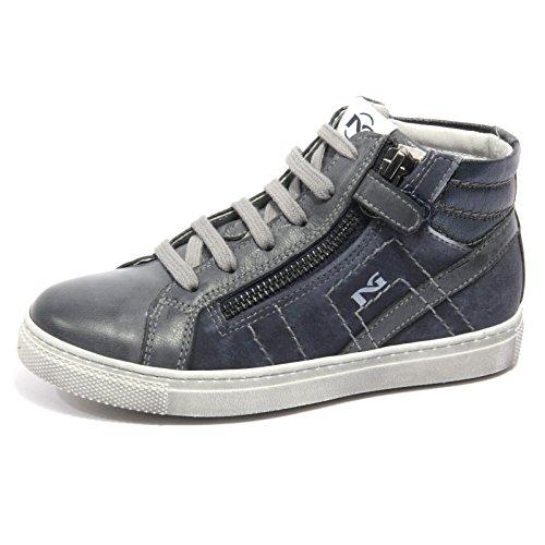 B1946 sneaker bimbo NERO GIARDINI BRANDON BLU VINTAGE shoe kid [25]