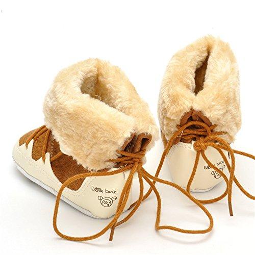 ESTAMICO , {Chaussures premiers pas pour bébé (garçon) kaki 6-12 mois kaki