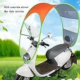 Elektrische Windschutzscheibe / Motorrad Windschutzscheibe / Regen Sonnenschutz Windschutzscheibe / Sonnenschutz Windschild (4 Farben optional) ( farbe : C )