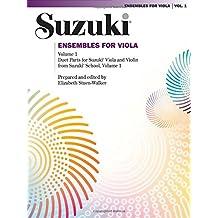 Suzuki: Ensembles for Viola