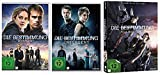 Die Bestimmung - Divergent + Insurgent (Single DVD) + Allegiant (Deluxe 2 DVD Fan Edt.) im Set - Deutsche Originalware [4 DVDs]
