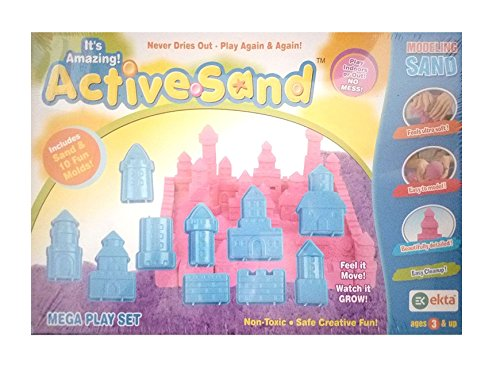 Ekta Active Sand (Mega Play House Kit)