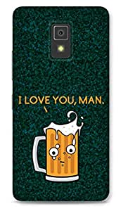 Lenovo A6600 Designer Hard-Plastic Phone Cover from Print Opera -Cup Of Beer