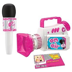 Kids Design - Juego de imitación de presentador de televisión, diseño de Barbie