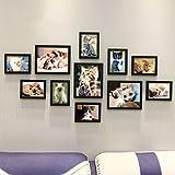 Fotowand Triptychon-Persönlichkeits 11 Boxen Kreative Tier Foto Wand, Katze Bilderrahmen Foto Wand, Wohnzimmer Schlafzimmer Kinderzimmer Wand Bilderrahmen Frame Set für Hausdeko (Farbe : A4)