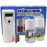 Duftspender Starter-Set Anti Smoke inklusive Aerosol Dispenser sowie zwei Raumdüften zur Geruchsneutralisation in Raucherräumen