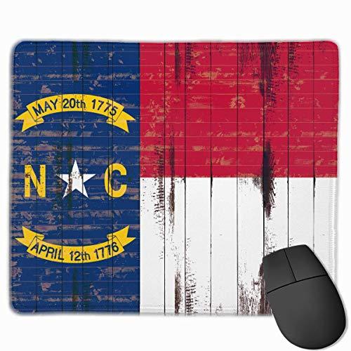 North Carolina Flag PC Mouse Pads Mousepad Gaming Mats 9.8