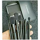 Mac Cosmetic Makeup Brush Set With Storage Of Box Set Of 12 Pcs For The Beauty Of Girls And Womens