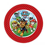 Paw Patrol Party Round Paper Plates (8 Pack)