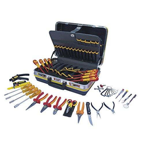 C.K Werkzeugkoffer für Techniker/Elektroniker, 30-teilig, 1 Stück, T1642