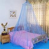 lzn Bett Moskitonetz,Fliegennetz Mückennetz Insektennetz Spitze Betthimmel 60x250x900cm
