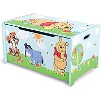 Preisvergleich für Set von 2Disney Winnie The Pooh kinderspielzeugkiste, Kinder Spielzeug Box/Spielzeug Box/Aufbewahrungsbox aus Holz: ca. 24,5x 15,5x 13,1cm