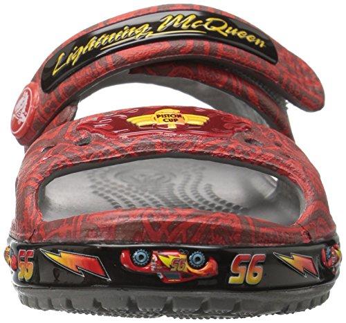 Crocs Cbnd2ltmcqueen, Sabots Mixte Enfant Rouge (Flame)