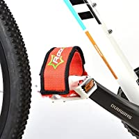 Rockbros 1paire Pédale de vélo Sangles à pédale Toe Clips Sangles ruban adhésif pour fixe Gear Bike