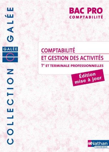 COMPTA GEST ACT BPRO GALEE ELE par SYLVIE CHAMILLARD