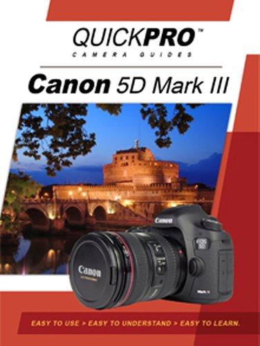 Preisvergleich Produktbild Canon 5D Mark III Instructional DVD by QuickPro Camera Guides