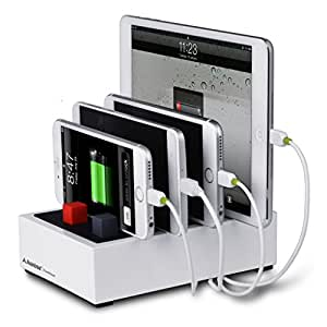 Avantree Universal Multi-device USB Desktop Charging Station 22.5w 5v/4.5a, for Ipad, iPhone 6/ 6 Plus, Samsung Tab, Samsung Galaxy Note 3/note2/s5/s4, Google Nexus 5/4 and More
