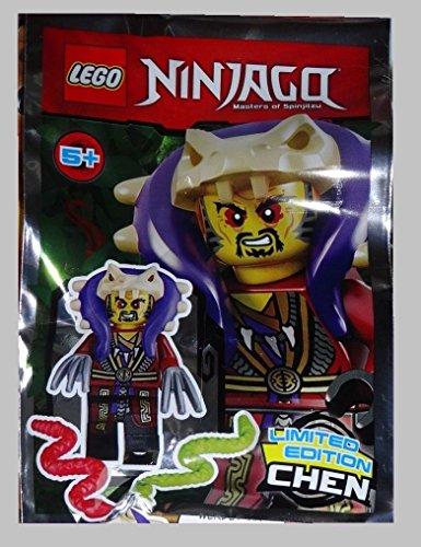 LEGO ® Ninjago - Limited Edition - Meister Chen Minifigur mit 2 Krallen und 2 Schlangen 891732