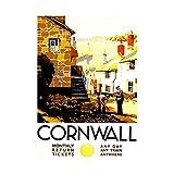 TRAVEL CORNWALL ENGLAND VILLAGE HARBOUR LIGHTHOUSE UK