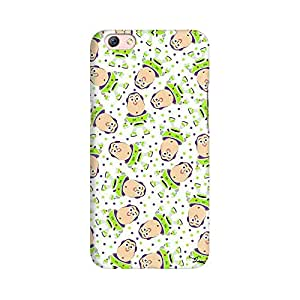Mobicture Space Cartoons Premium Printed High Quality Polycarbonate Hard Back Case Cover for Oppo R9s With Edge to Edge Printing