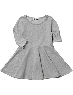 JXStar Mädchen Schößchen Kleid 80 DEN grau grau 3 Jahre