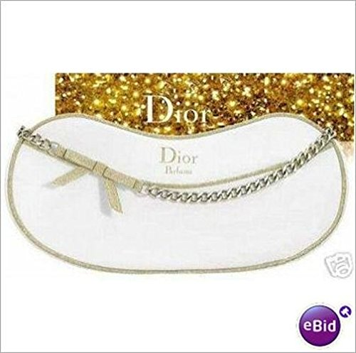 dior-parfums-satin-white-gold-trim-cosmetic-makeup-evening-bag-pouch