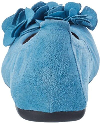 Andrea Conti 0097407, Ballerines femme Bleu jean