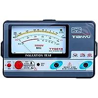 TY6018 1000V Medidor de resistencia al aislamiento, prueba de aislamiento analógico, 0,5-2000 m