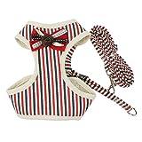 Baoblaze Klassische Muster Hundeweste, Zubehör für Hochzeit und Weihnachten Feier Party - Farbe Wahl - Rot - XL