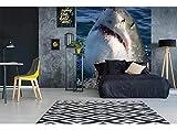 Dimex Line Papier peint photo en non-tissé de qualité supérieure Motif Requin - 225 x 250 cm Papier peint mural au format XXL