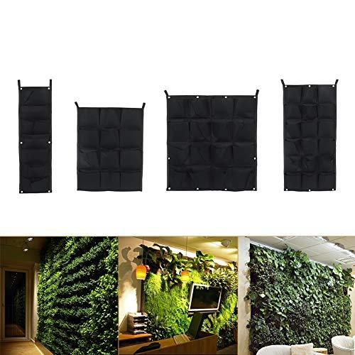 Vertikale Tasche hängend, vertikale Garten-Wand-Pflanzertaschen für Innen- / Garten-Inneneinrichtung im Freien(2#) (Ihre Eigenen Halloween-taschen Machen Sie)