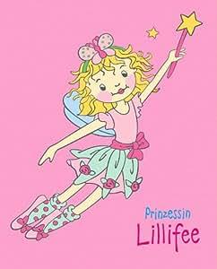 CTI 032375 Fleece Decke Lillifee 130 x 160 cm, rosa