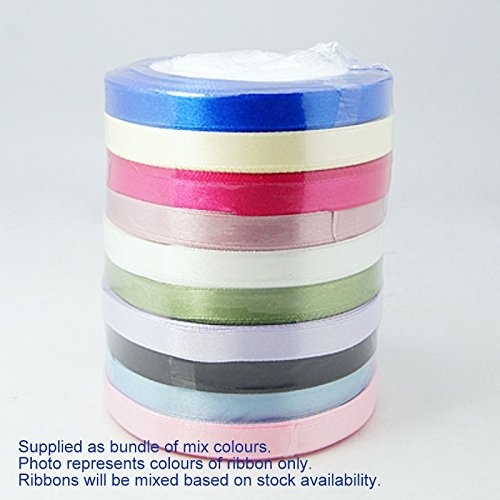 satin-ribbon-bundle-10-x-1-metre-x-6mm-assorted-colours-ideal-for-crafts-scrapbooking-giftwrap-weddi