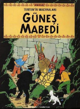 Les Aventures de Tintin : Le temple du soleil en Turc / Gnes Mabedi
