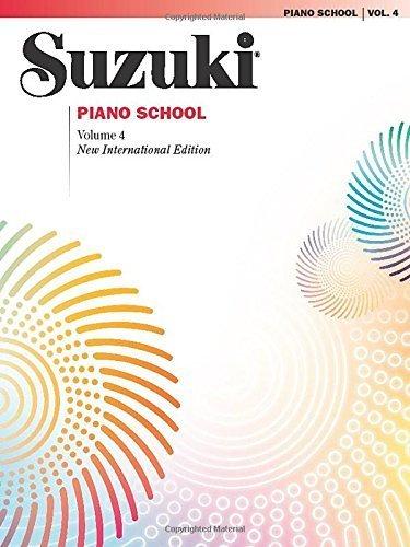 Suzuki Piano School, Volume 4 (The Suzuki Method Core Materials) by Staff, Alfred Publishing (2010) Paperback