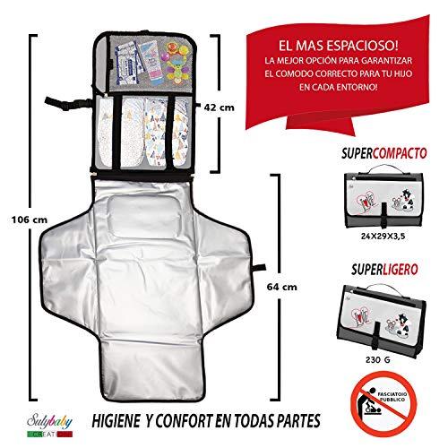 Imagen para Cambiador Portátil de Pañales para Bebé - Kit Cambiador de Viaje -