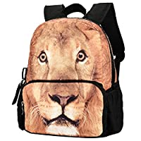Bistar Galaxy 3D Jurassic World Carrier BackpackBags, Children Carrier Rucksack Backpack For Kids with Large Zip BBP111. (Lion)