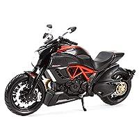 مايستو 1:12 ديافيل كاربون 1199 بانيجال R1200GS R nineT YZF-R1 Z900RS نينجا H2 R ZX-10R لعبة نموذج الدراجات النارية من سبيكة داي كاست (اللون: كربون الديافيل)