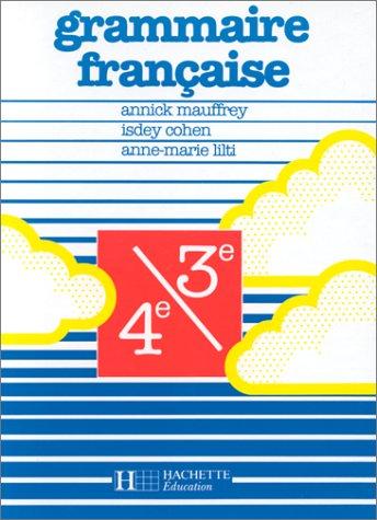 Grammaire française 4e/3e
