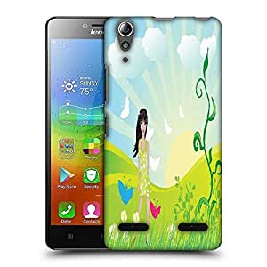 Snoogg abstract illustration Designer Protective Back Case Cover For Lenovo A6010