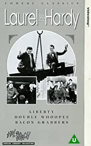 Laurel And Hardy: Liberty/Double Whoopee/Bacon Grabbers [VHS]