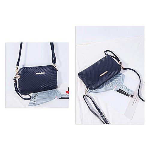 Borsa a tracolla della borsa della borsa del totalizzatore della borsa a tracolla della borsa delle donne di Ya Jin Blu