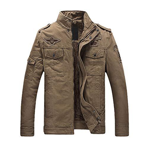 Arbeitsjacke Männer Winter UFODB Herren Hardshelljacke Funktions Outdoor Jacke Silm Atmungsaktiv Casual Jacket Military übergangsjacke...