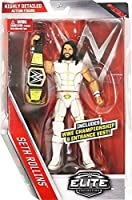 brand new in stock - WWE Elite Series 45 Action Figure - White Attire Seth Rollins W/ WWE Championship Belt Accessory